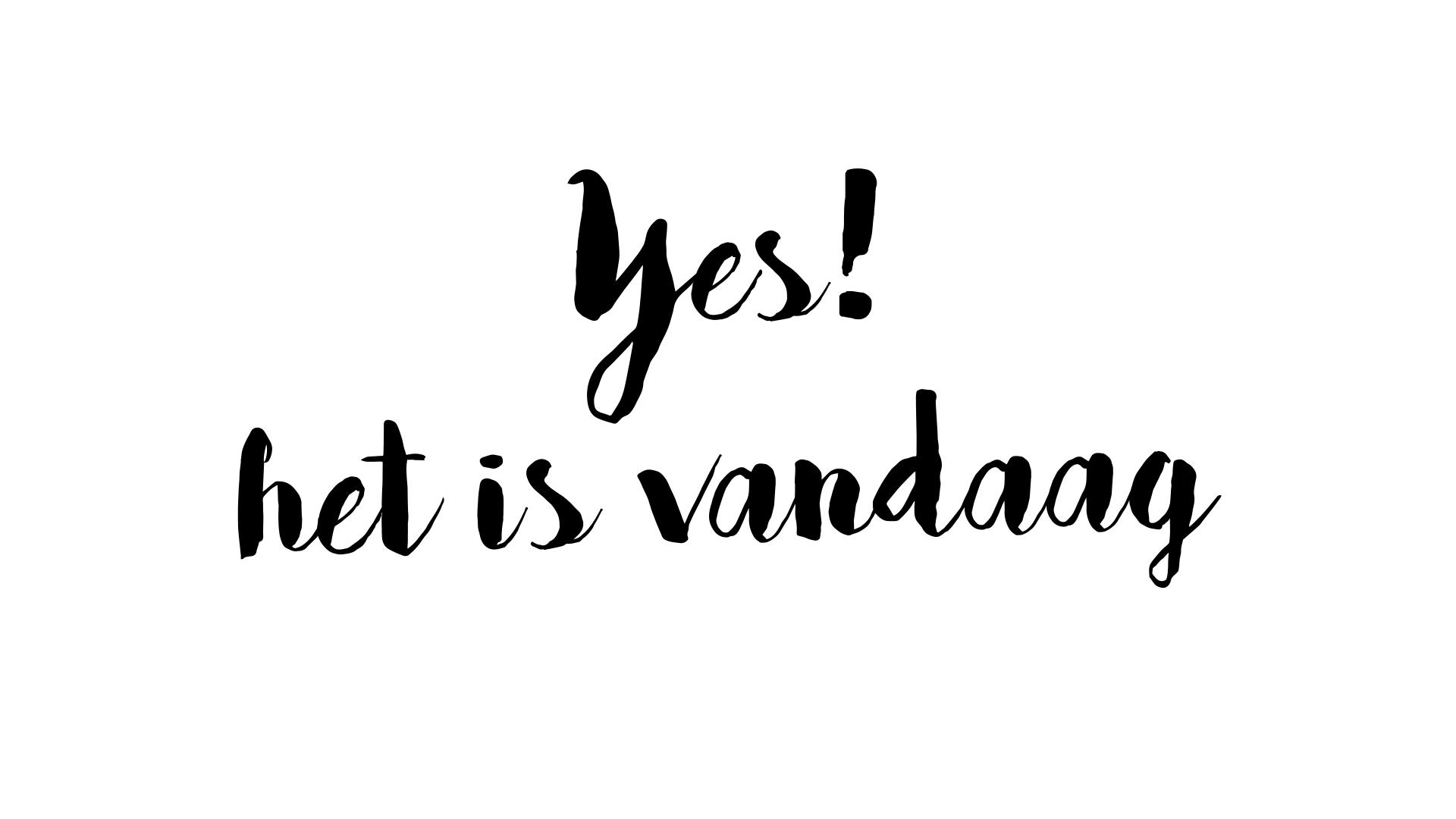Yes!  Het Is Vandaag